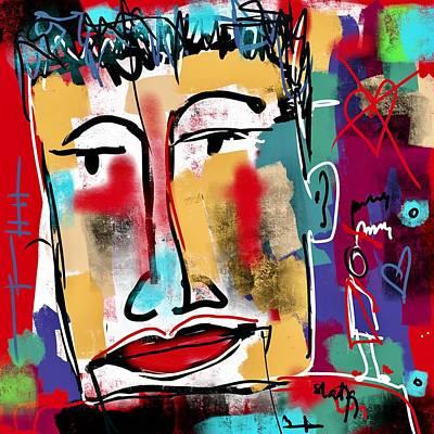 Digital Art - It's Over by Sladjana Lazarevic