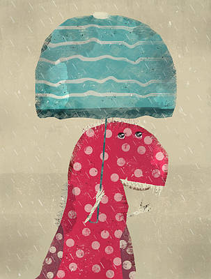 Its Raining Again Art Print