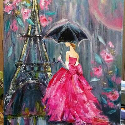 Pink Wall Art - Photograph - It's Raining In #california ! This by Jennifer Beaudet