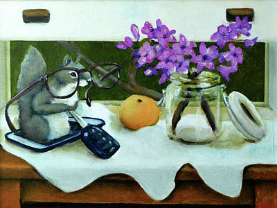Painting - It's Still Life With Add by Pic Michel