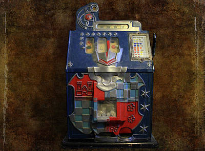 Photograph - It's Your Dime-1936 Antique Slot Machine by Donna Kennedy