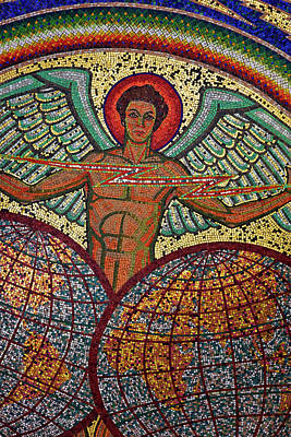 Itt Mosaic Art Print by John Stuart