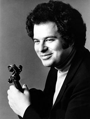 Violin Photograph - Itzhak Perlman, Ca. 1980s by Everett