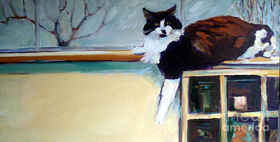Painting - Ivan Is Not So Terrible Today by Pauline Hauder
