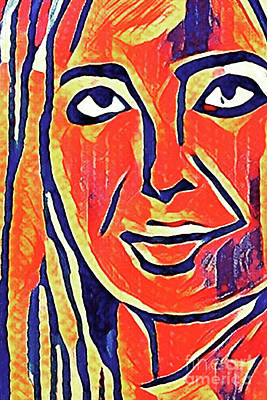 Painting - Ivanka Trump by Michael Volpicelli