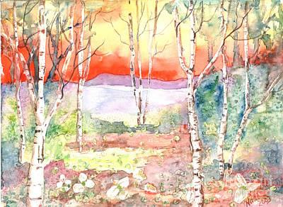 Art Print featuring the painting Ivan's Eve by Renate Nadi Wesley