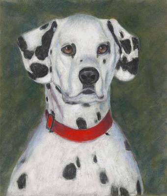 Dog Painting - I've Spotted You by Billie Colson