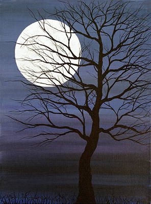 Painting - I've Touched The Moon by Andrea Youngman