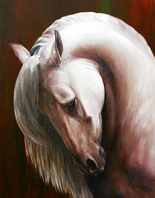 Painting - Ivory by Laurie McGinley