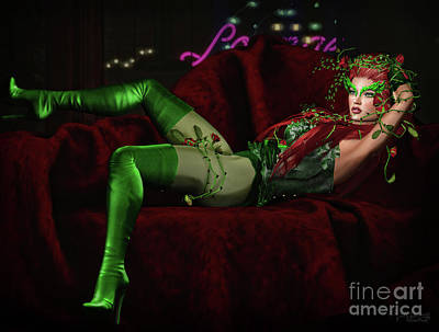 Digital Art - Ivy 2 by Georgina Hannay