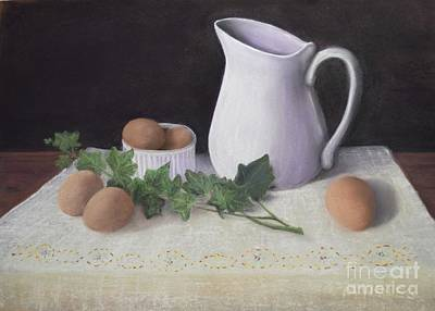 Painting - Ivy And Eggs by Michelle Welles