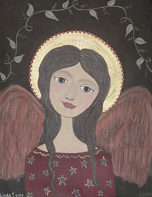 Painting - Ivy Angel by Linda Tetmyer