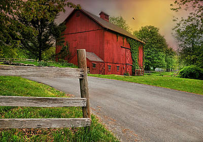 Photograph - Ivy Barn by Diana Angstadt