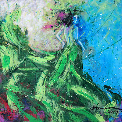 Painting - Ivy In Her Dreams by Kume Bryant