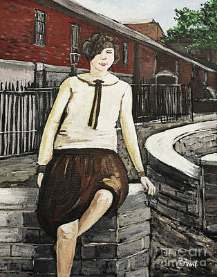 Painting - Ivy Philpott by Reb Frost