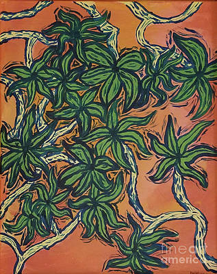 Painting - Ivy Vine by David Rodriguez
