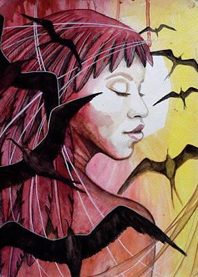 Iwa Painting - 'iwalani by Kimberly Kirk