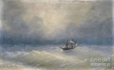 Sailing Painting - Iwan Konstantinowitsch by MotionAge Designs