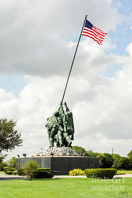 Photograph - Iwo Jima Monument IIi by Imagery by Charly