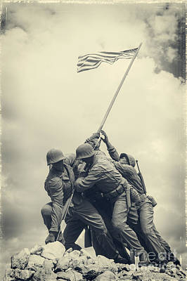 Photograph - Iwo Jima Monument by Imagery by Charly