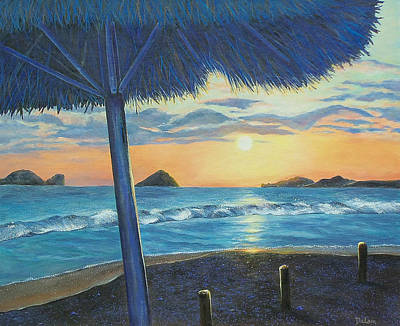Art Print featuring the painting Ixtapa by Susan DeLain