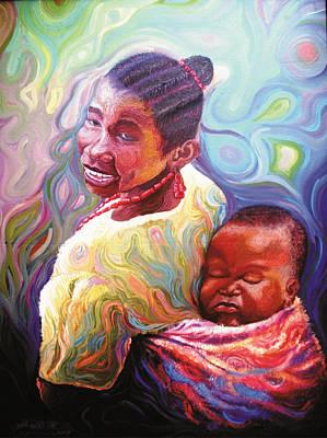 Painting - Iyaniwura  by Bankole Abe