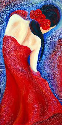 Iza Art Print by Claudia Fuenzalida Johns
