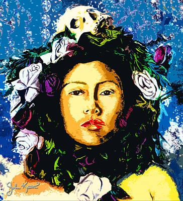 Iztaccihuatl Art Print by John Keaton