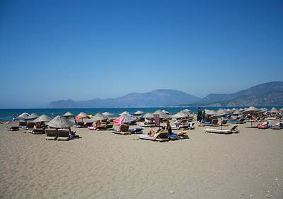 Photograph - Iztuzu Beach Dalyan Turkey by Tracey Harrington-Simpson
