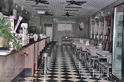 Photograph - Izzo's Drugstore by Jan Amiss Photography