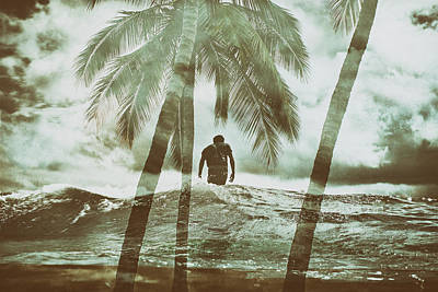 Photograph - Izzy Jive And Palms by Nik West