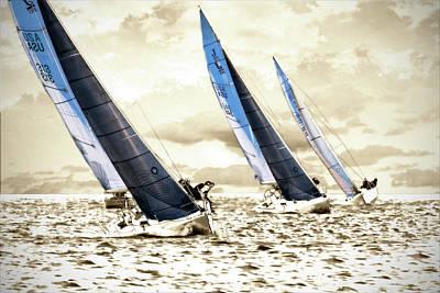 J Boats 2 Art Print by Alan Hausenflock