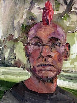 Sanfrancisco Painting - J Bone Portrait by Lara Branca