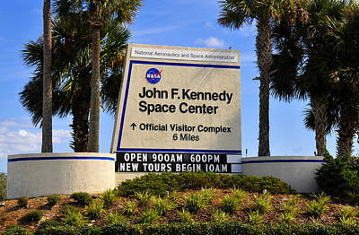 Photograph - J F K Space Center And Nasa by David Lee Thompson