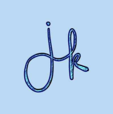 Drawing - j k by Bill Owen