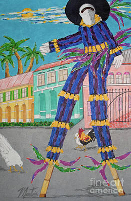 Painting - J Ouvert Morning  by Art Mantia