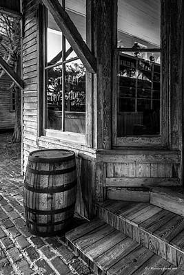 General Store Photograph - J. R. Terry Dry Goods 1879 by Marvin Spates