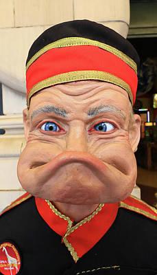 J. T. Saylors A K A Rubber Face Art Print