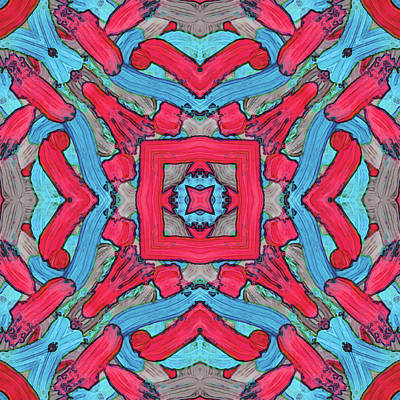 Digital Art - J U N -month- -pattern- by Coded Images