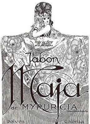 Art Print featuring the digital art Jabon by ReInVintaged