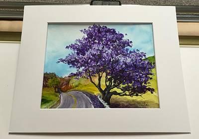 Painting - Jacaranda by Darice Machel McGuire