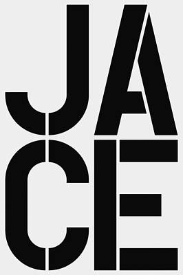 Abbreviation Painting - Jace by Three Dots