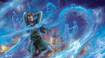 Wizard Digital Art - Jace's Origin by Ryan Barger