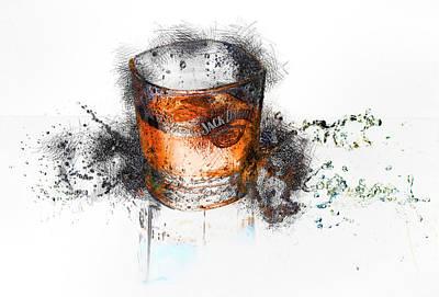 Digital Art - Jack 1 by Adam Vance