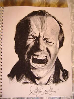 Alex Rodriguez Drawing - Jack by Alex Rodriguez