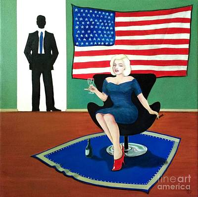 Painting - Jack And Marilyn by John Lyes