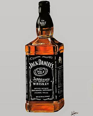 Jack Daniels Bottle Original by Shaheer Mansour