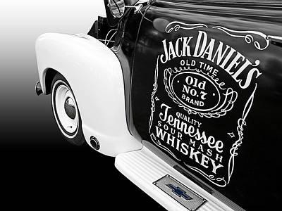 Custom Hotrod Photograph - Jack Daniel's Chevy by Gill Billington