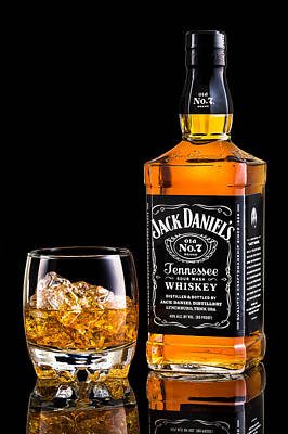 Jack Daniel's Art Print by Mihai Andritoiu