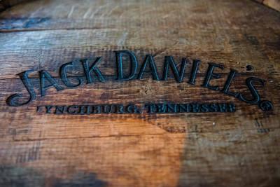 Jack Daniels Oak Barrel Art Print